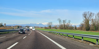Italian rural landscape Stock Photo