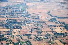 Italian rural landscape from the plain Stock Photos