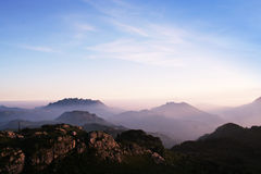 Italian's Mountain stock photo