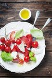 Italian salad caprese with tomato and mozzarella Stock Photography