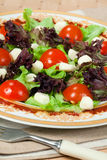 Italian salad with mozarella Stock Photos