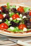Italian salad with mozarella Stock Photos