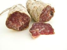 Italian salami Stock Photos