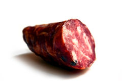 Italian salami Royalty Free Stock Photo