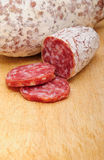 Italian salami Royalty Free Stock Photos