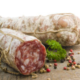Italian salami Stock Photos