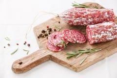 Italian salami Stock Photography
