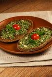 Italian sandwich stock photo