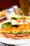 Italian sandwich Stock Photos