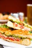 Italian sandwich Royalty Free Stock Image
