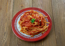 Italian sauce of roasted tomatoes Royalty Free Stock Images