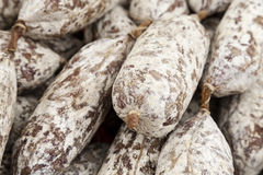 Italian sausage Stock Images