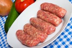 Italian Sausage Stock Image