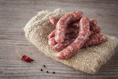 Italian sausage Stock Photos