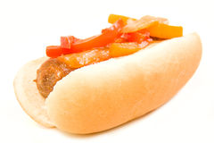 Italian Sausage And Peppers Royalty Free Stock Photography