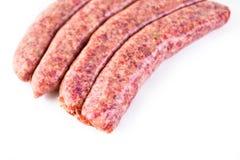 Italian sausage stock photos