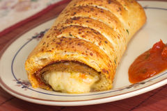Italian Sausage Roll Stock Images
