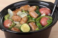 Italian Sausage Stew Stock Image