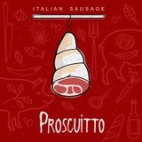 Italian Sausage Stock Photo