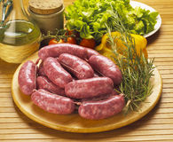 Italian sausages Stock Image