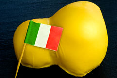 Italian scarmoza cheese Stock Photos