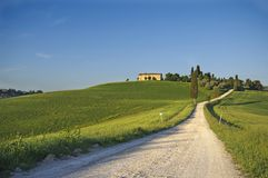 Italian scenery. A nice view of landscape in tuscany Stock Photo