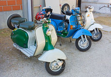 Italian scooter Stock Images