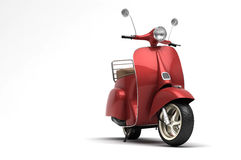 Italian scooter Stock Image