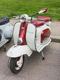 Italian scooter Lambretta Stock Photography