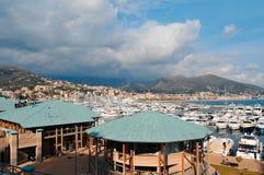 Italian sea. A view of Varazze in Liguria region (Italy Stock Photos