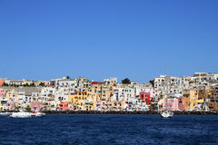 Italian sea coast, procida, naples Stock Image