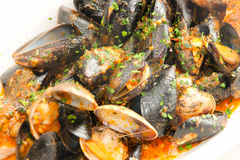 Italian Seafood Soup Stock Images