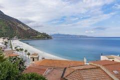 ITALIAN SEASCAPE, SCILLA stock image