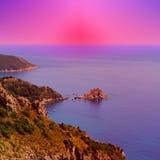 Italian Seascape Stock Photo