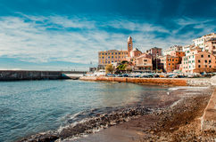 Italian seaside Stock Photography