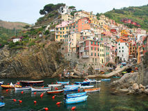 Italian seaside village Stock Image
