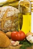 Italian seasoning stock image