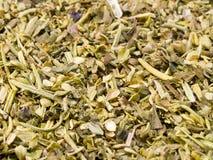 Italian Seasoning Background. A close up on a pile of Italian Seasoning Stock Images