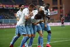 Italian Serie A soccer match Genoa vs SS Lazio