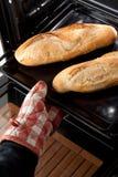 Italian Sfilatino Bread Royalty Free Stock Images