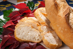 Italian Sfilatino Bread Stock Photography