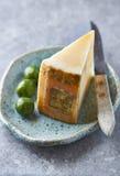 Italian Sheep's Cheese on a plate Stock Photos