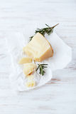 Italian Sheep's Cheese Royalty Free Stock Images
