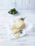 Italian Sheeps Cheese royalty free stock image