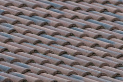 Italian shingle roof Royalty Free Stock Photography