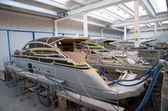 Italian shipyard Stock Images