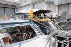 Italian shipyard Stock Image