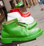 Italian shoes Royalty Free Stock Images