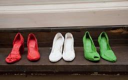 Italian shoes Stock Photo