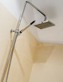Italian shower in a modern bathroom stock images